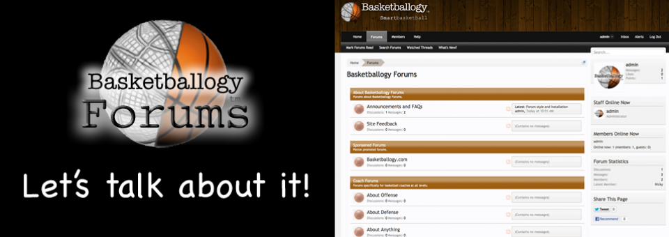 Announcing Basketballogy Forums